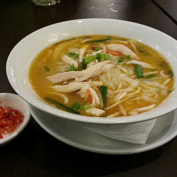 Chicken and Prawn Kway Teow Soup