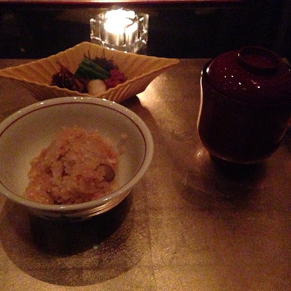 Sea Urchin Fried Rice And Miso Soup - Rosanjin, New York, NY