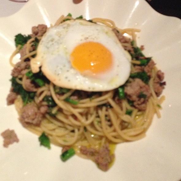 Sicilian Spaghetti - Chez Melange, Redondo Beach, CA