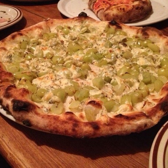 Gorgonzola And Grape Pizza at Bella Italia