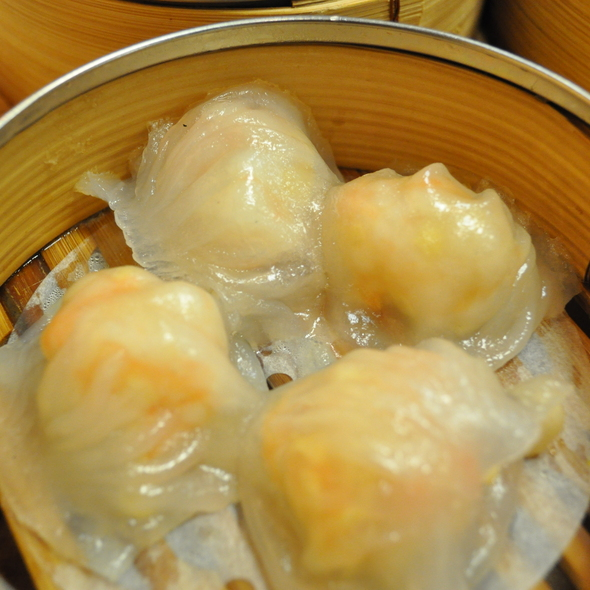 Steamed Shrimp Dumpling @ Dim Sum King