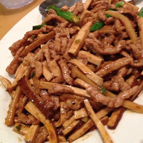 筍尖豆乾肉絲