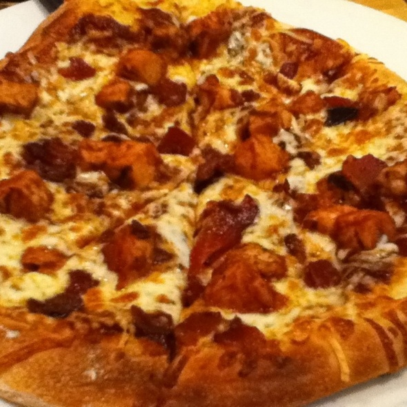 Bbq Chicken And Bacon Pizza @ California Pizza Kitchen