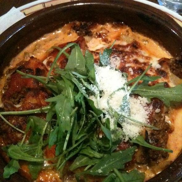 Lasagne el forno @ Restaurant Primo Ciao Ciao