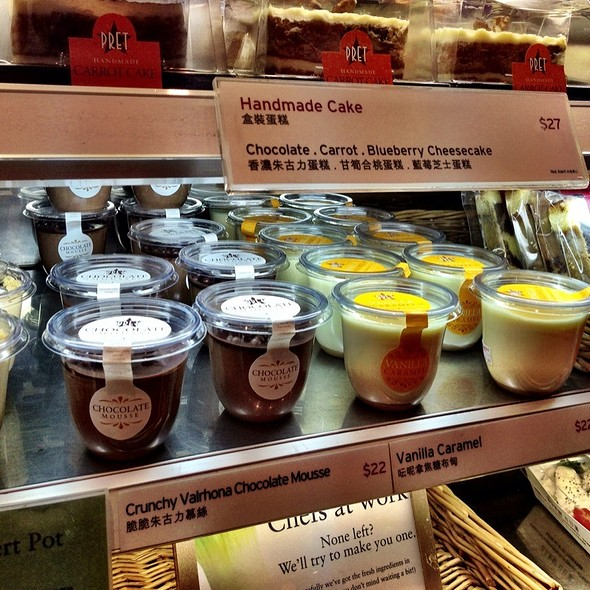 Crunchy Valrhona Chocolate Mousse @ Pret A Manger - IFC Mall