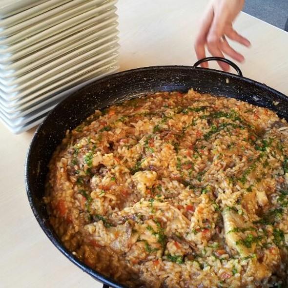 arroz con pota blava