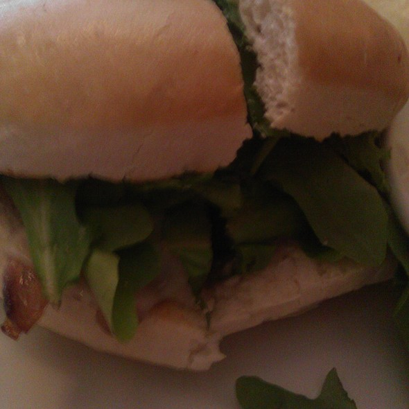 Portabello Sandwich - Martine Cafe, Salt Lake City, UT