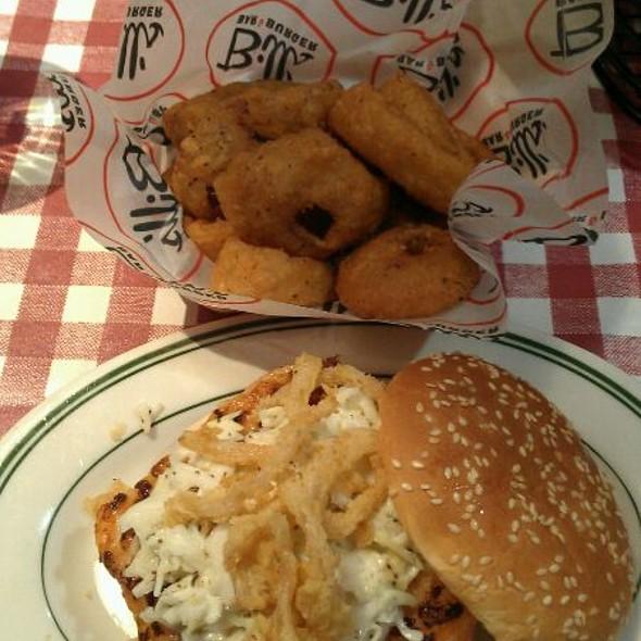 Shrimp Burger @ Bill's Bar & Burger - Rockefeller Center
