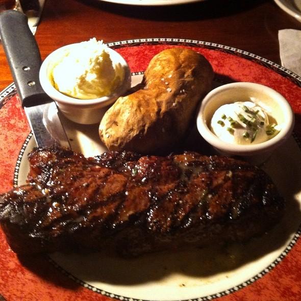 NY Strip Steak - Flat Stone Tavern & Grill, Egg Harbor Township, NJ