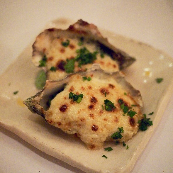 Oysters Bingo @ Cindy's Backstreet Kitchen