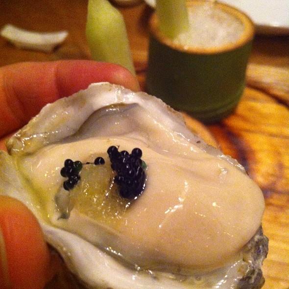 Kumamoto Oysters Meyer Lemon-Yuzu Ice
