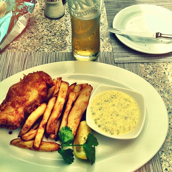 Fish and Chips @ The Square (Vineyard Hotel)