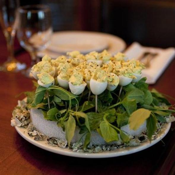 Deviled Quail Eggs @ Wedding