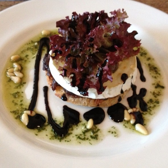 Grilled Goats Cheese On Toast @ The Strand