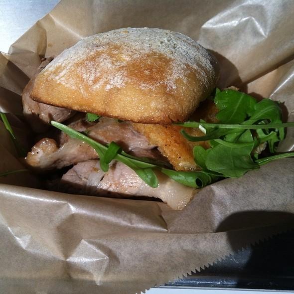 Porchetta Sandwich @ Porchetta Truck