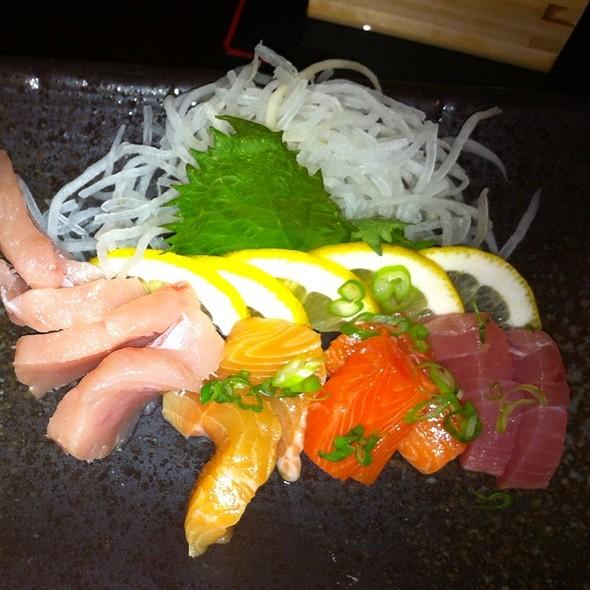 Sashimi Plate @ Geisha Sustainable Sushi