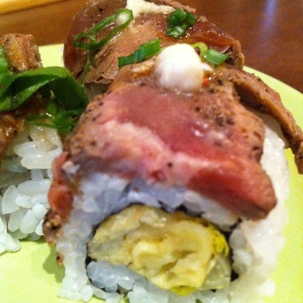 Surf & Turf Sushi Roll @ Sushi Mojo