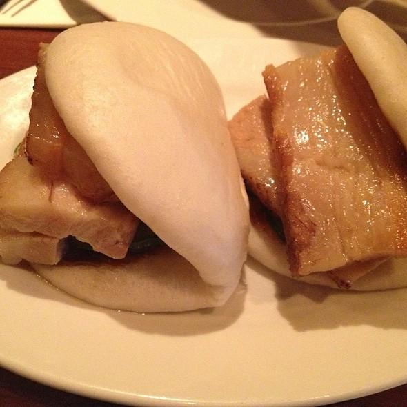 Steamed Buns with pork @ Momofuku Ssam Bar