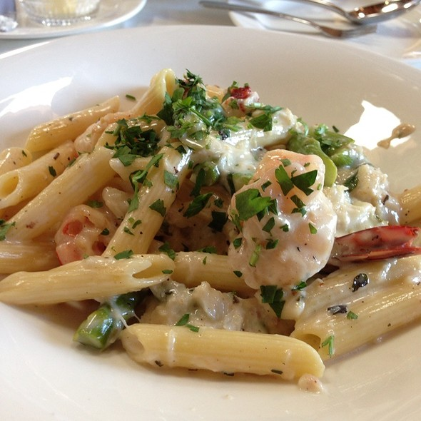 Seafood Penne W/ Champagne Cream Sauce - Paradiso, San Leandro, CA