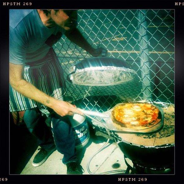 Pizza Margherita @ Casey's Pizza