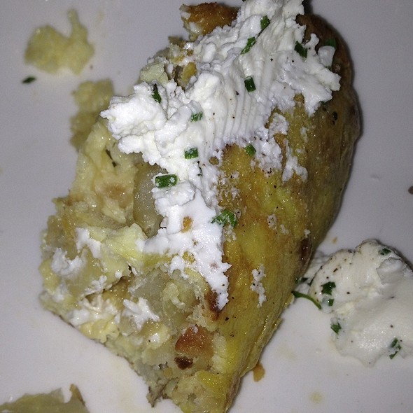 Spanish Tortilla With Goat Cheese