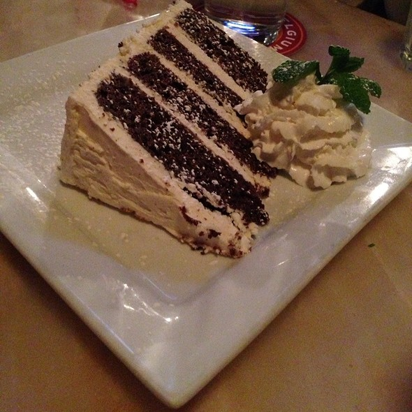 Devil's Foodcake With Mascarpone Buttercream - South Ridge Seafood, Breckenridge, CO