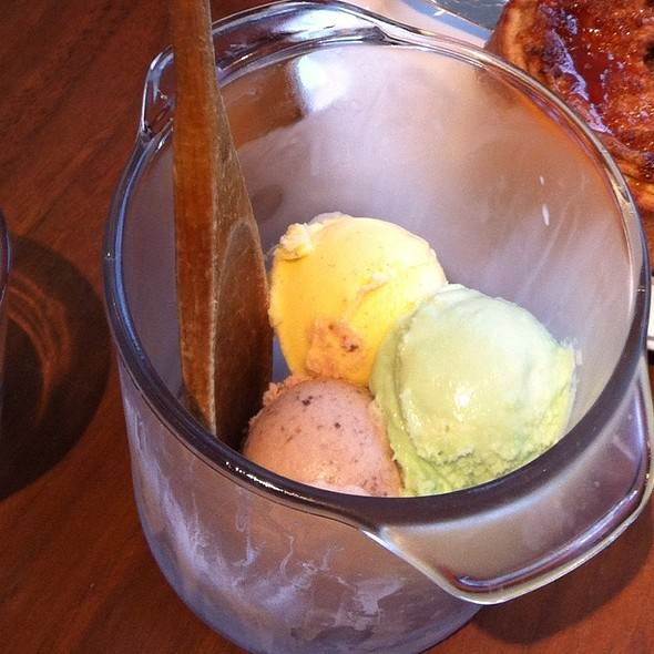Ice Cream @ Blue Duck Tavern