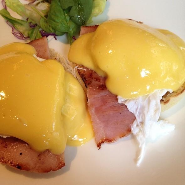 Eggs Benedict at Canopy Garden Dining u0026 Bar & Canopy Garden Dining u0026 Bar Menu - Foodspotting