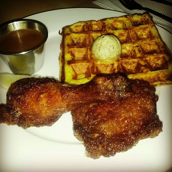 Chicken And Waffle @ Borough