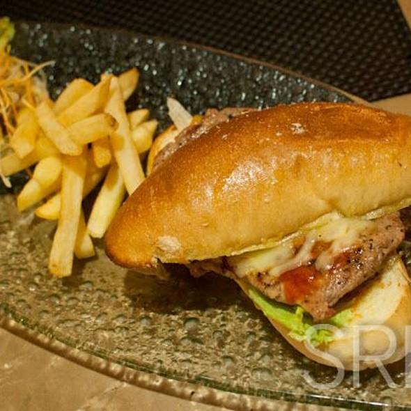 Philly Steak Burger