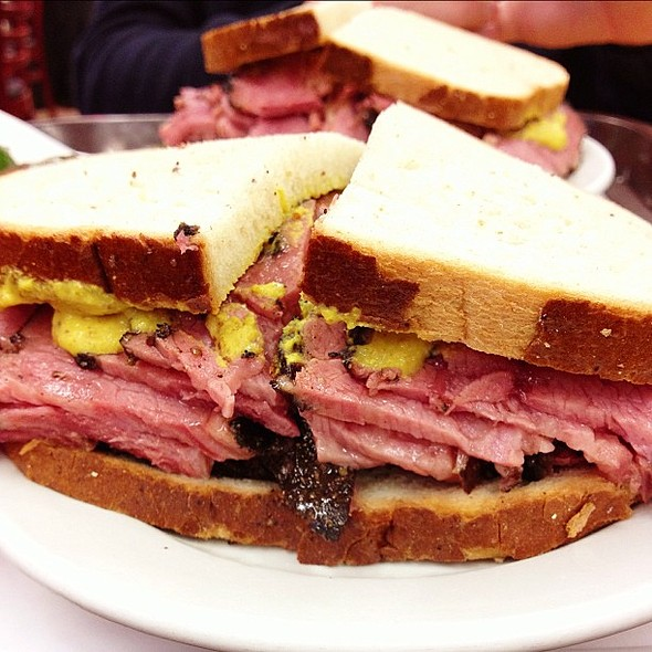 Pastrami on Rye @ Bed And Breakfast On The Park