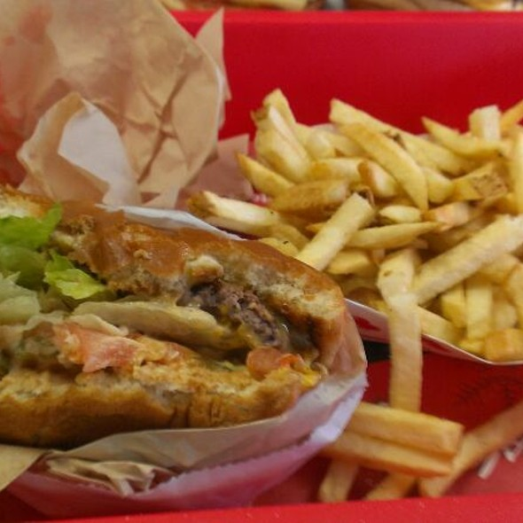 Cheeseburger Animal Style With Fries @ In-N-Out Burger