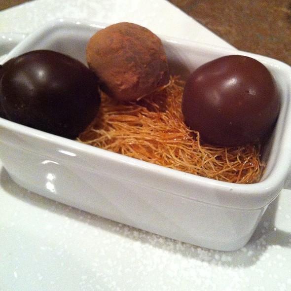 Homemade Truffles - Ya Ya's Euro Bistro - Denver, Greenwood Village, CO