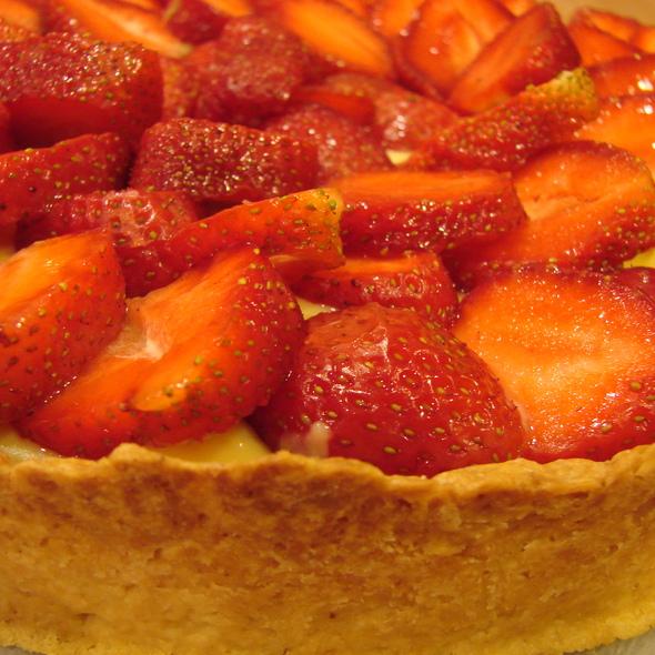 strawberry pie @ KFC