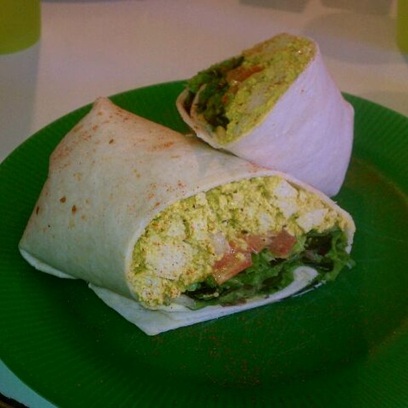 Curried Tofu Wrap @ Maggie's Vegetarian