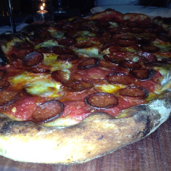 Pepperoni Pizza @ Providence Coal Fired Pizza