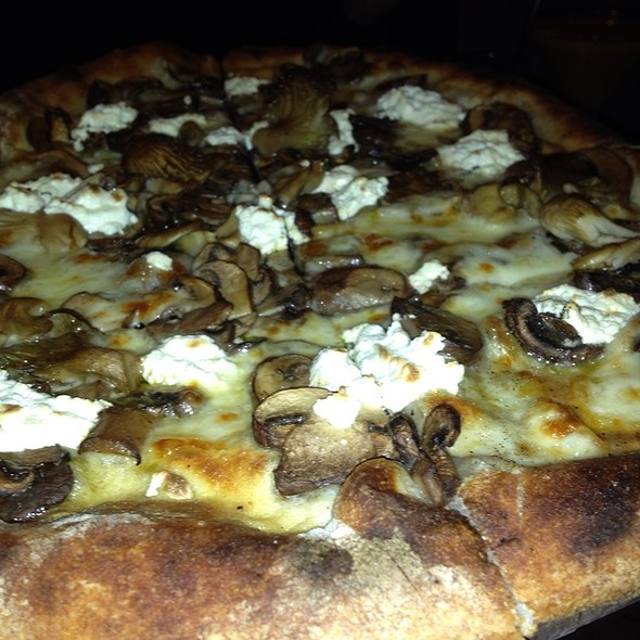 Mushroom Pizza @ Providence Coal Fired Pizza