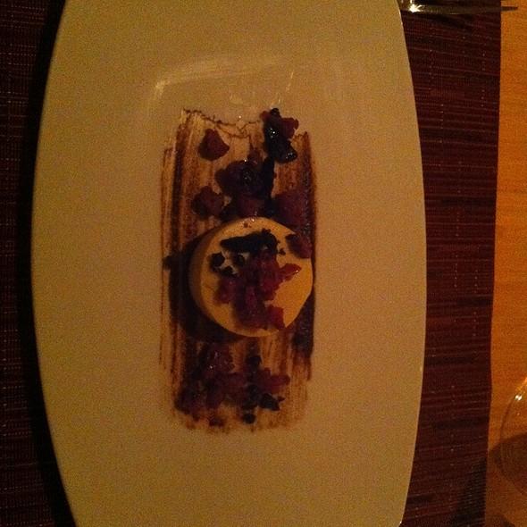 Garlic Flan @ Tilth Restaurant