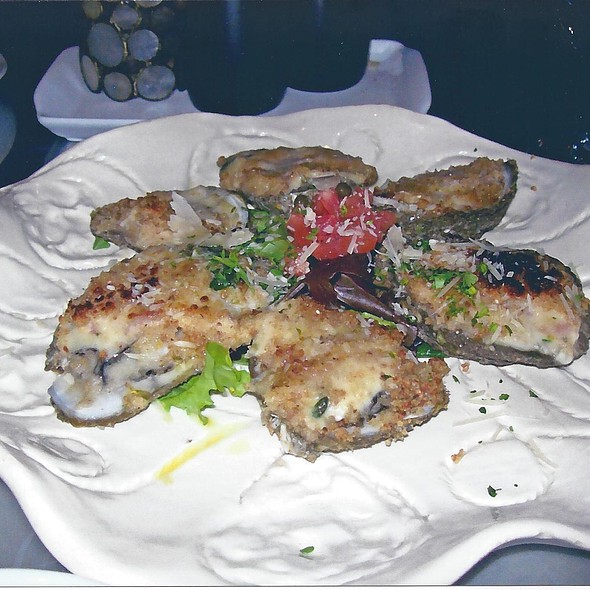 Roasted Oysters - Isabella's Italian Trattoria, Lynchburg, VA
