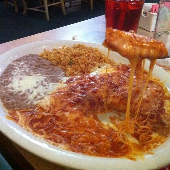 Cheese Enchiladas @ Anita's Mexican Food