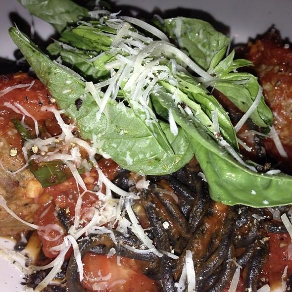 Black Spaghetti With Meatballs - Cafe Vico Ristorante, Fort Lauderdale, FL