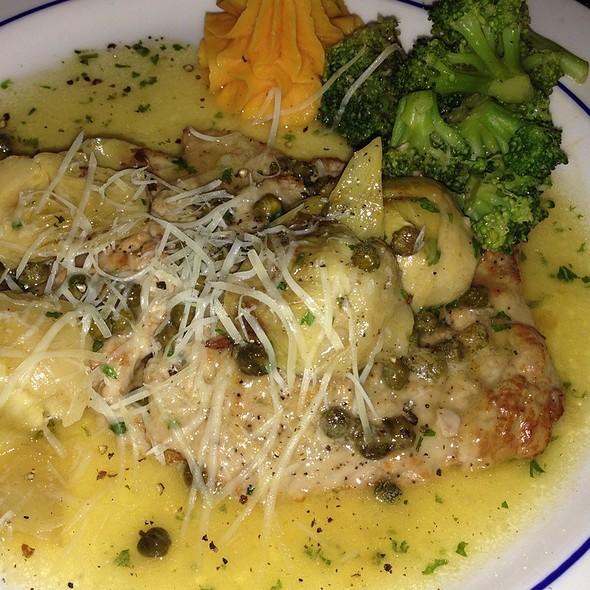 veal piccata - Cafe Vico Ristorante, Fort Lauderdale, FL