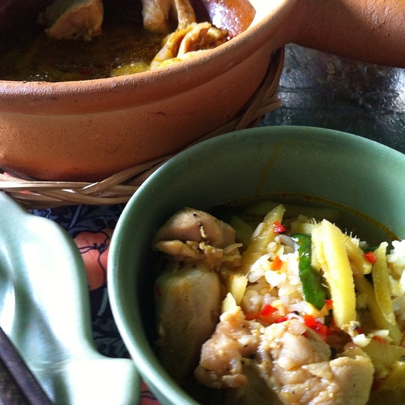 Chicken Stew In Clay Pot