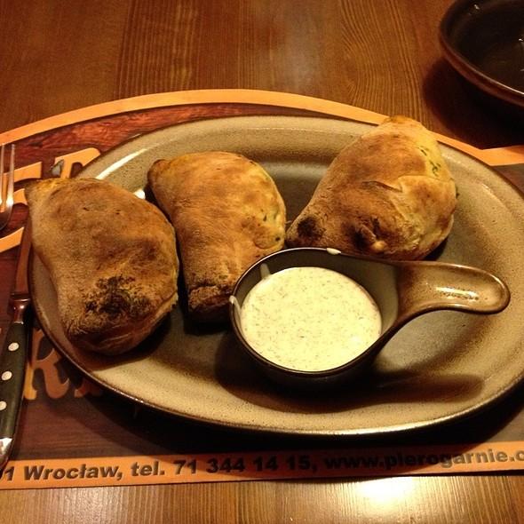 Chicken & Spinach Dumplings  @ Pierogarnia Stary Młyn