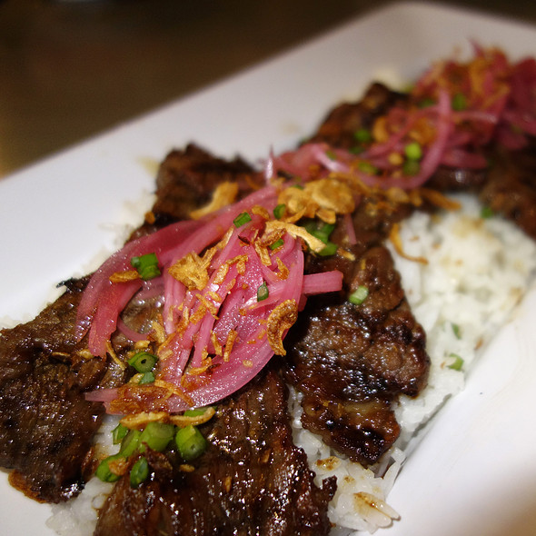 Grilled BellyQ Beef - BellyQ, Chicago, IL