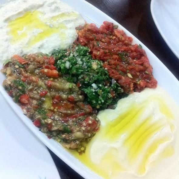 Mixed Appetizer Platter @ Istanbul Flower