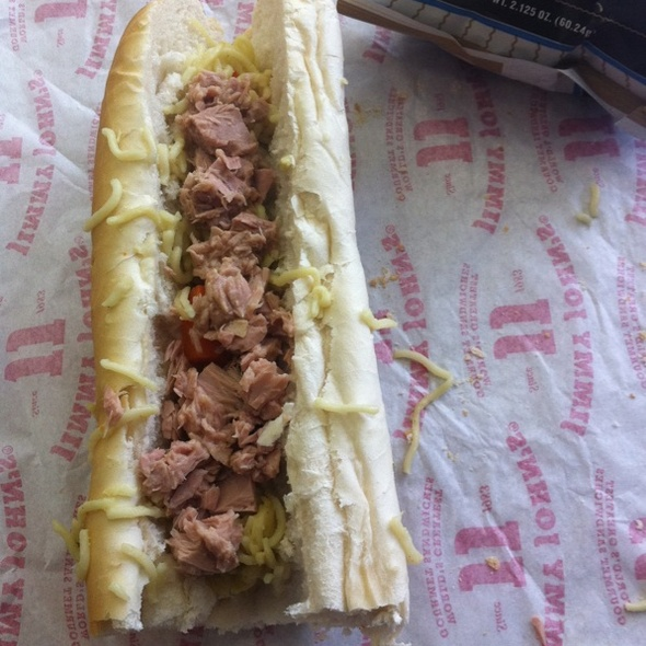 Sorry Charlie Ramen Sub @ Jimmy John's Gourmet Sandwiches