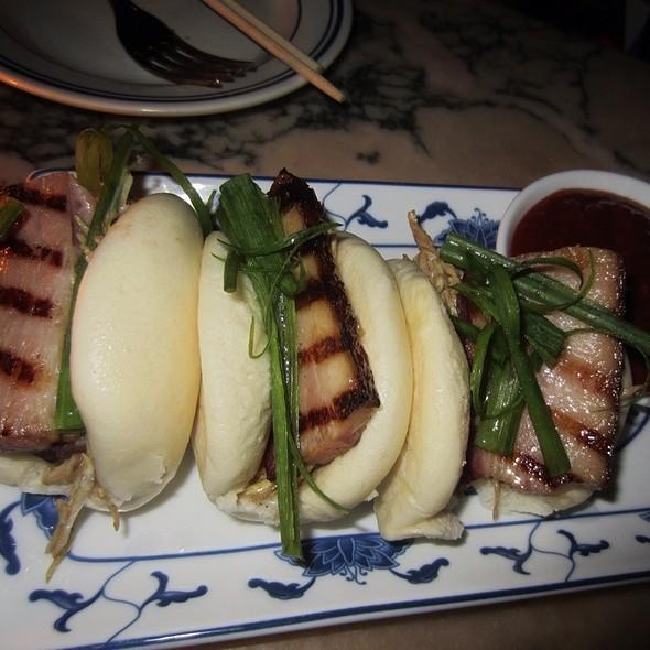 Grilled Bacon Buns - Macao Trading Company, New York, NY