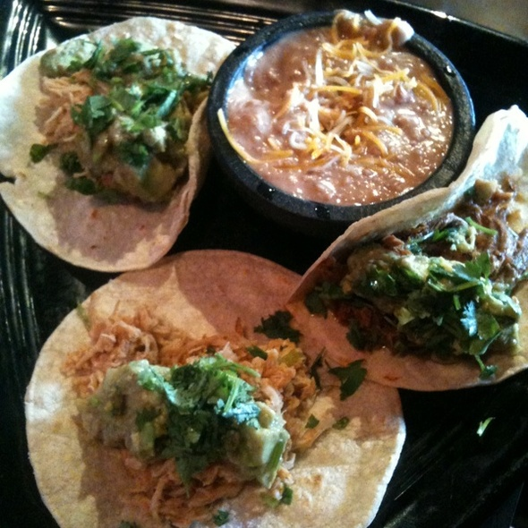 New Mexican Street Tacos