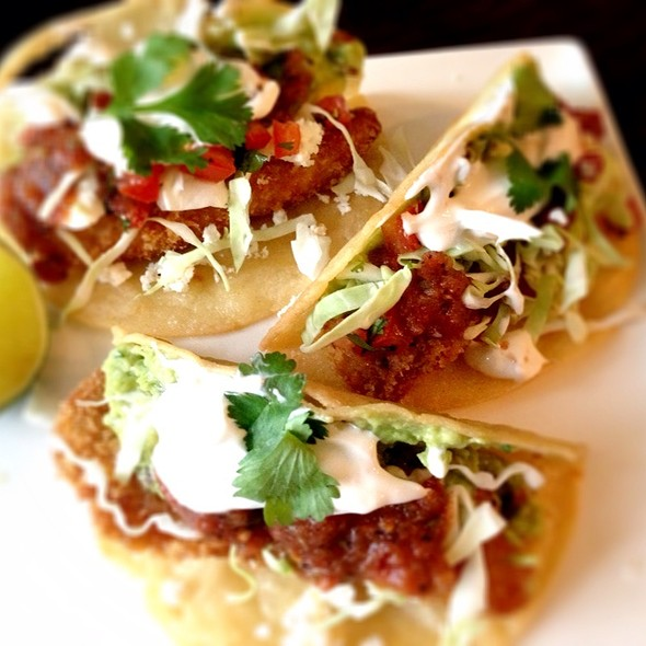 Tilapia Fish Tacos @ Giddy Gastronaut Kitchen
